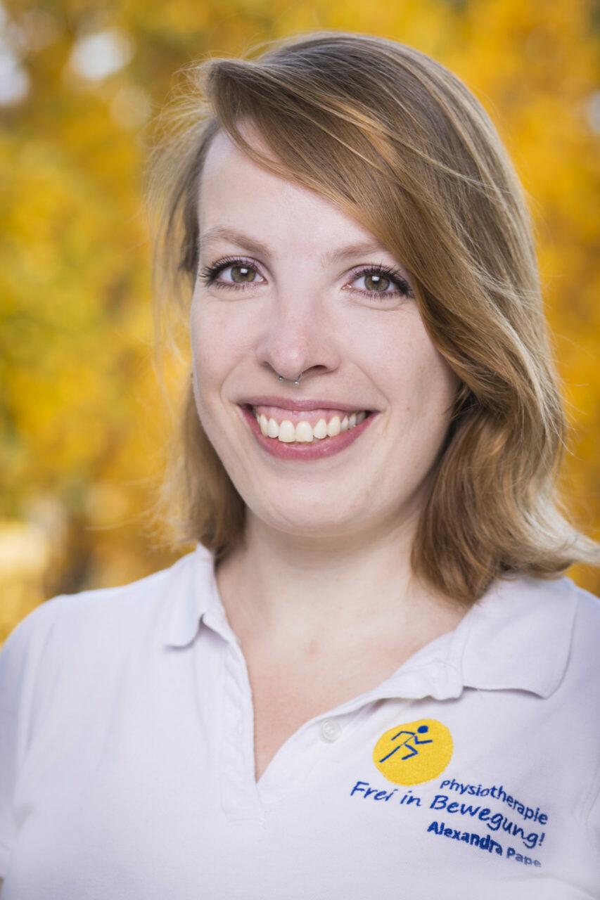 Physiotherapeutin Alexandra Pape