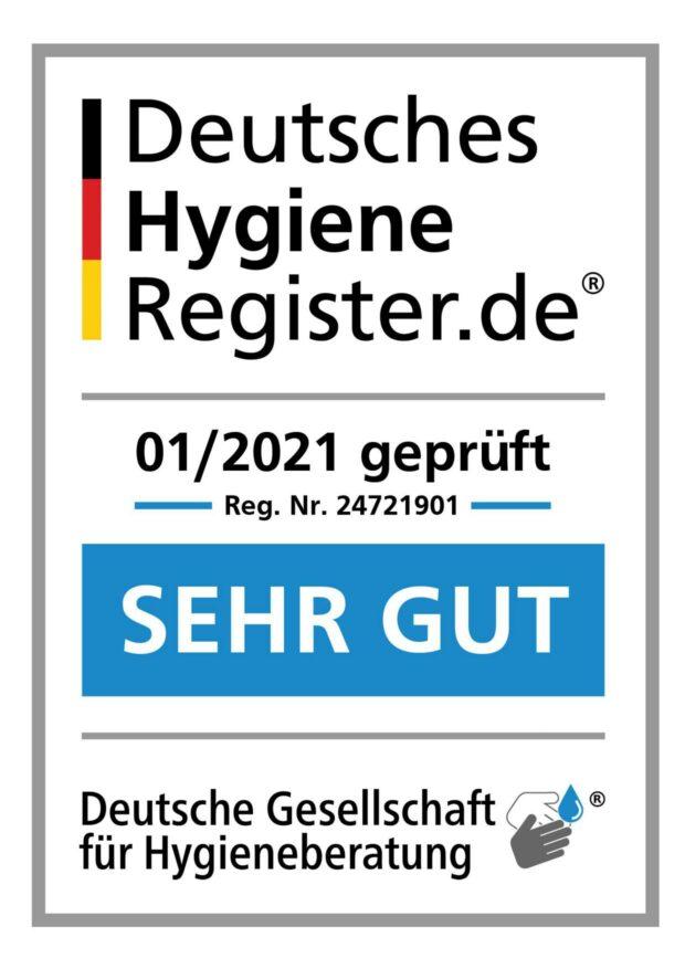 Hygienesiegel Physiotherapie Mülheim winkhausen heissen dümpten